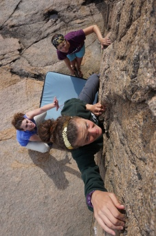 women's expedition bouldering